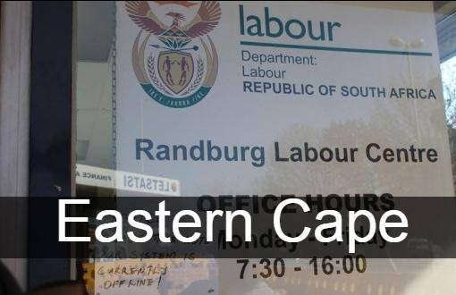 UIF Labour Centres Eastern Cape