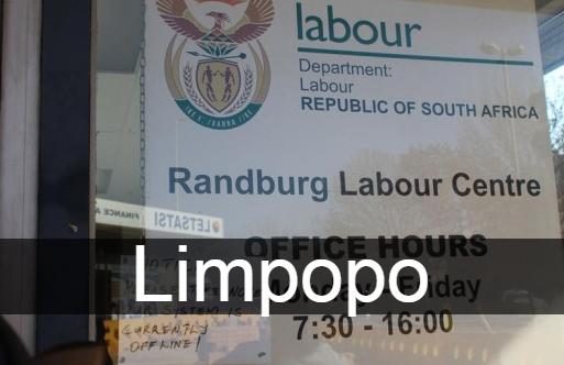 UIF Labour Centres Limpopo