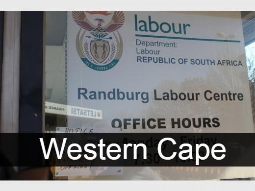 UIF Labour Centres Western Cape