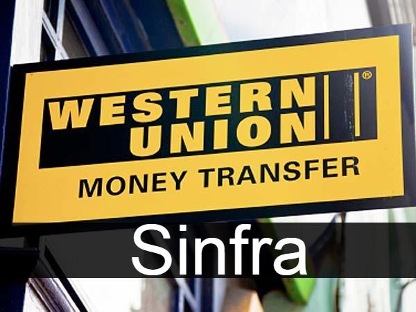 Western union in Sinfra