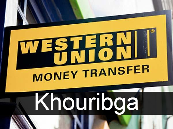 Western union Khouribga