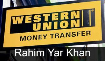Western union Rahim Yar Khan