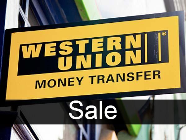 Western union Sale
