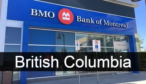Bank of Montreal British Columbia