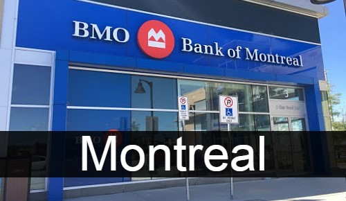 Bank of Montreal in Montreal