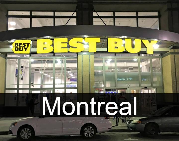 Best Buy Montreal