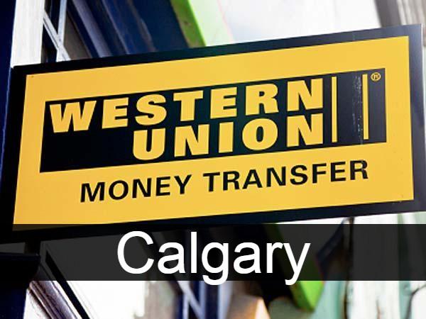 Western union in Calgary