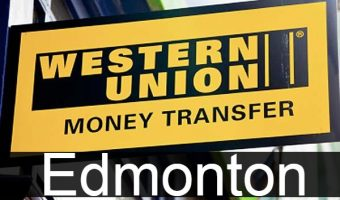 Western union in Edmonton
