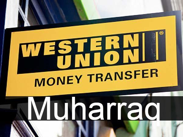 Western union in Muharraq