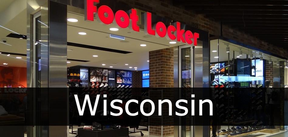 foot locker Wisconsin