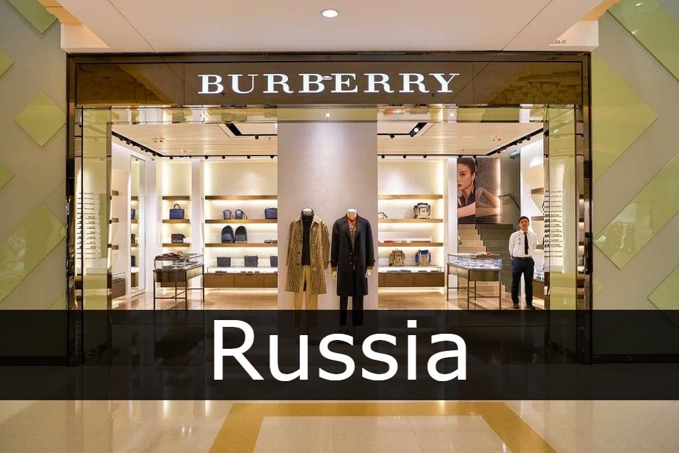 Burberry Russia