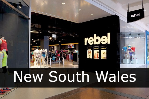 Rebel Sport New South Wales
