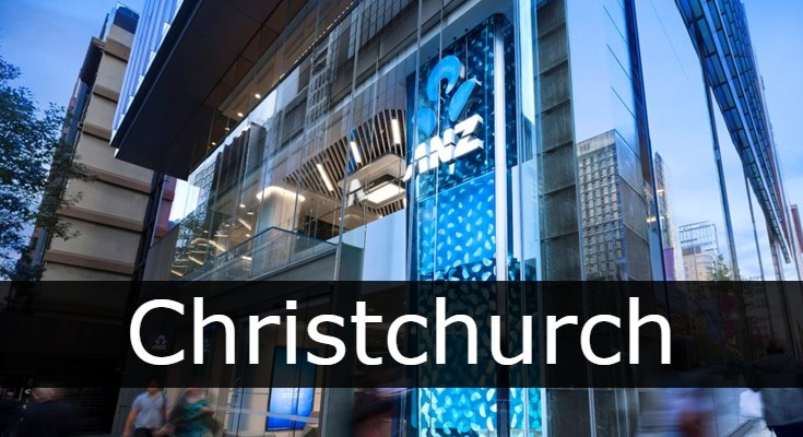 anz bank Christchurch