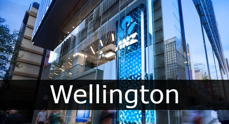 anz bank Wellington