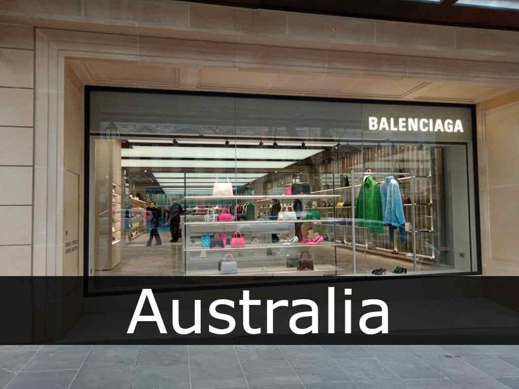 Balenciaga Australia