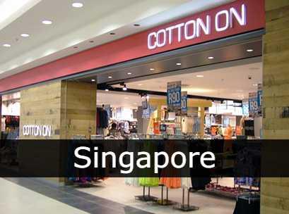 Cotton on Singapore