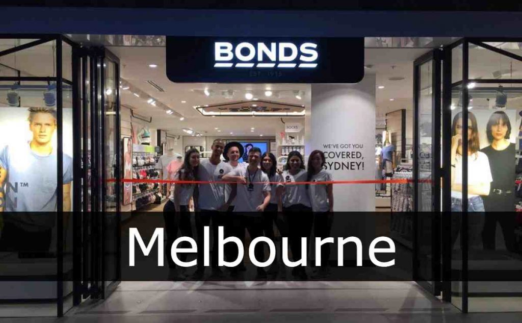 Bonds Melbourne