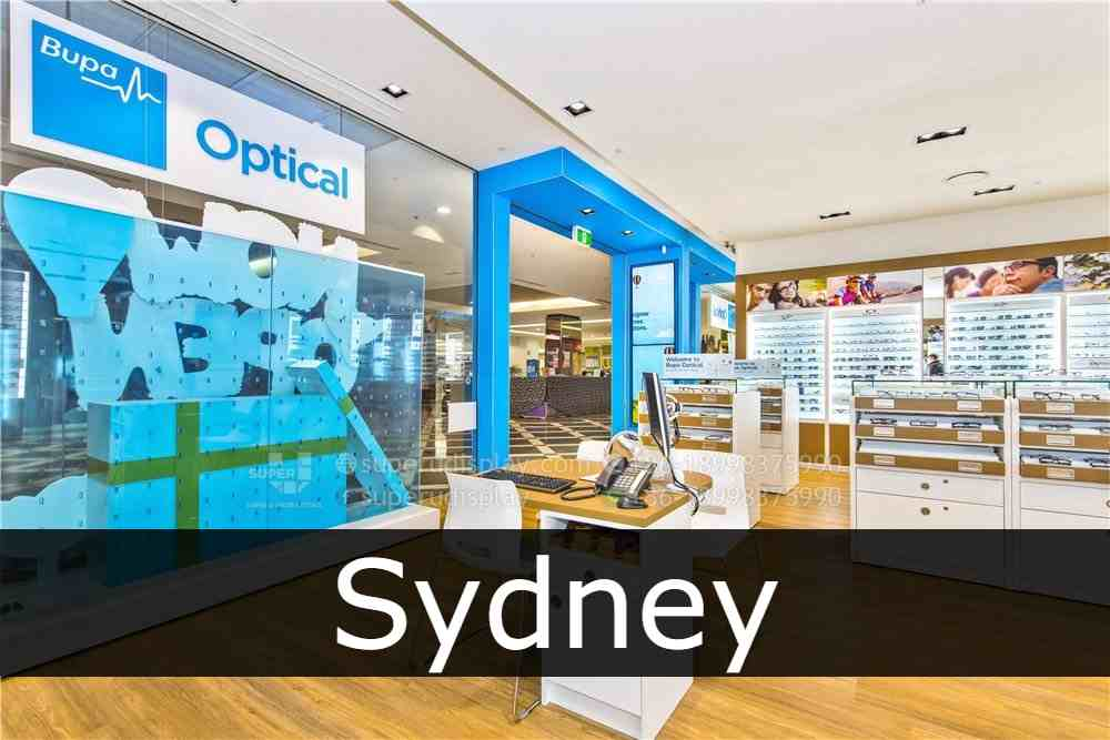 Bupa Optical Sydney